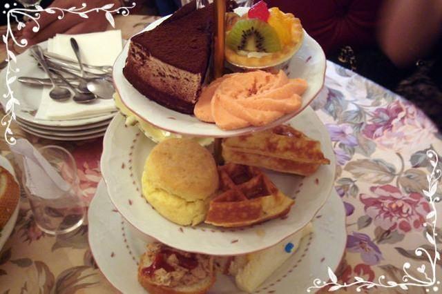 久違的下午茶~古典玫瑰園 @魚樂分享誌