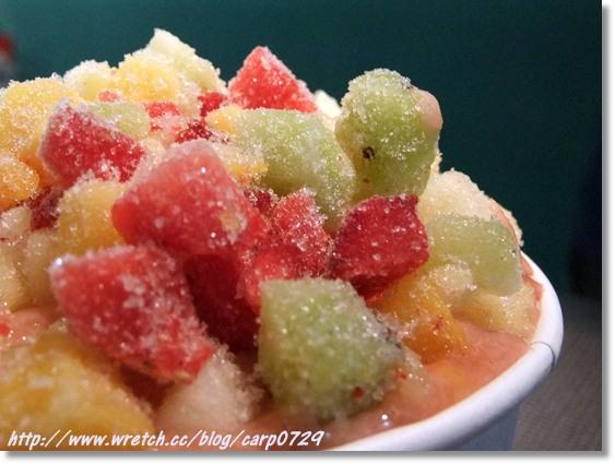 天使果沙~用吃的方式喝飲料,用喝的方式吃水果 @魚樂分享誌