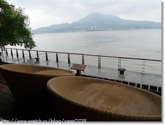 【淡水】榕堤水灣餐廳~大推!!!!! @魚樂分享誌