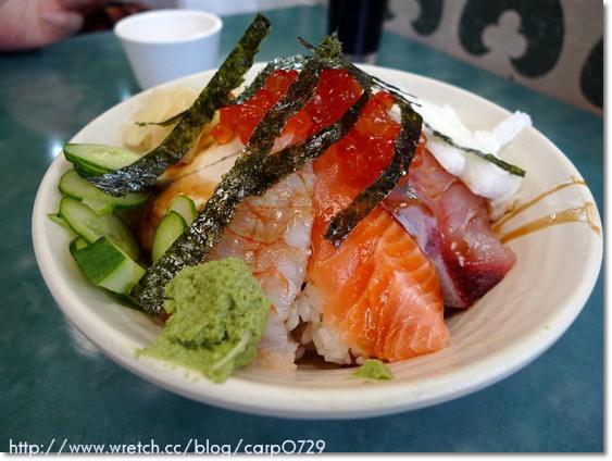 【西門町】美觀園~豪華豐盛生魚片蓋飯 @魚樂分享誌