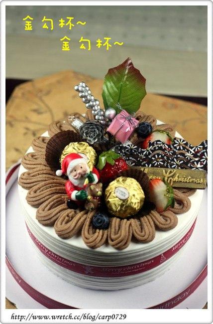 【網購】玉香齋栗子蛋糕~聖誕節限定款!! @魚樂分享誌