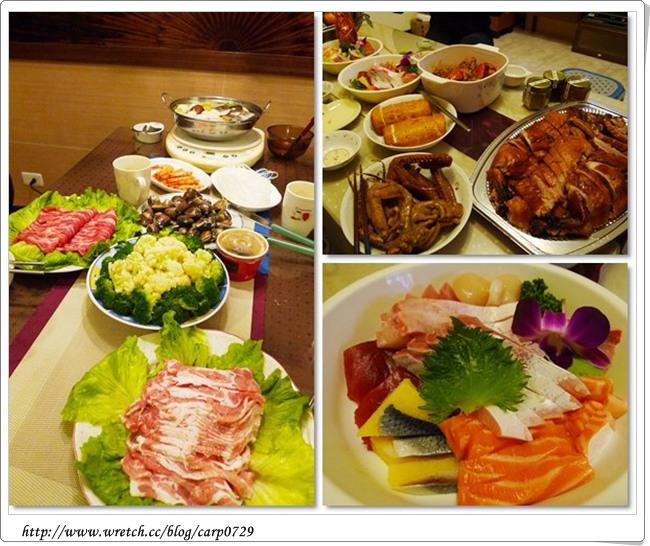 【除夕】今年的年夜飯~春日年菜&一毛不拔果香燒鵝 @魚樂分享誌