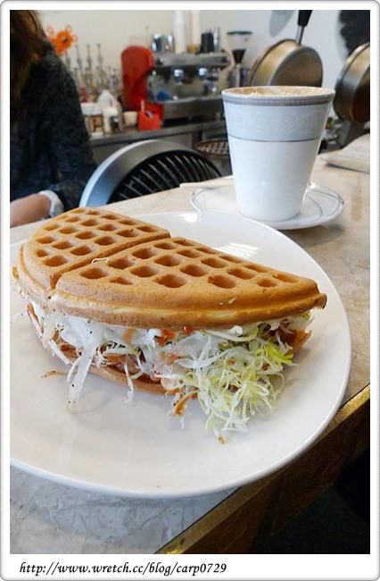 【苗栗苑裡】心戀Coffe Bar~鹹鬆餅好特別 @魚樂分享誌