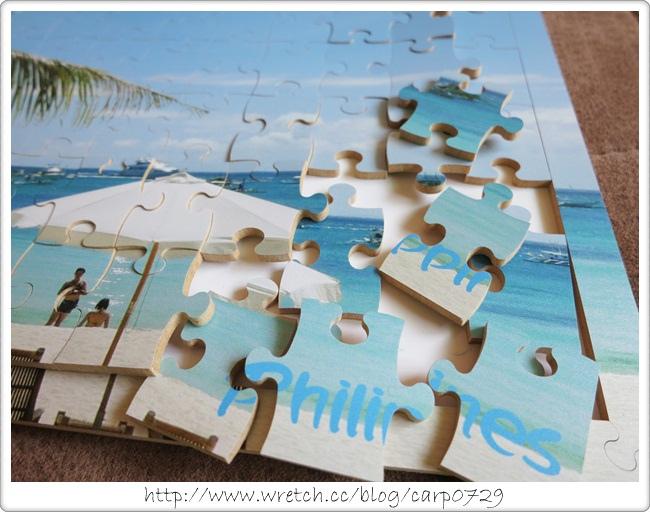 【好物】雲端印刷網~木質拼圖 @魚樂分享誌