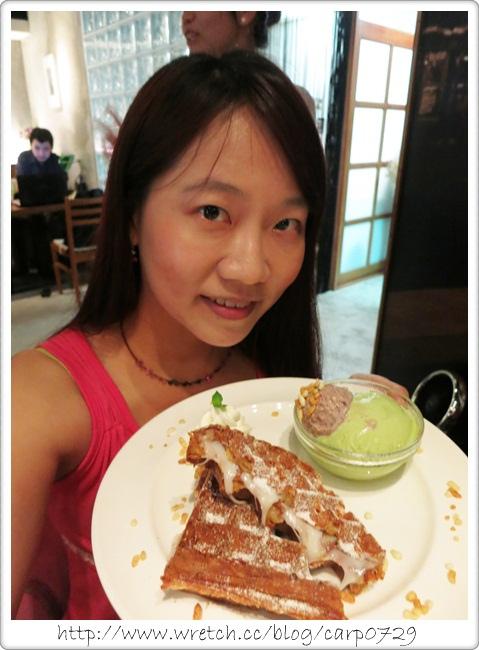 【台北大直】庫卡咖啡~麻糬鬆餅好特別~ @魚樂分享誌