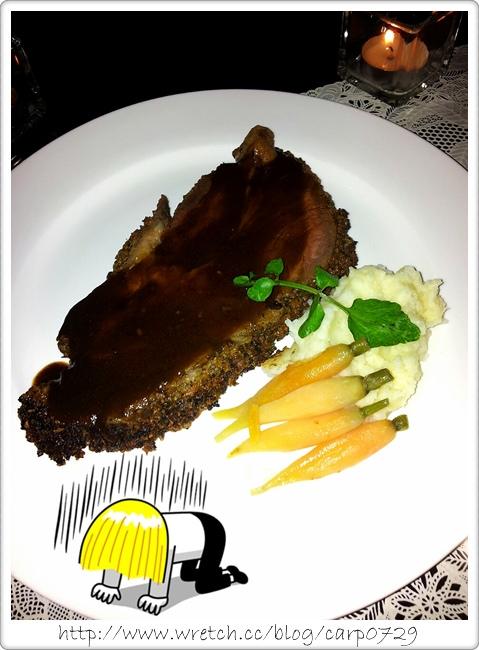 【台北站前】君品茶苑~沙朗牛排吃到飽 @魚樂分享誌