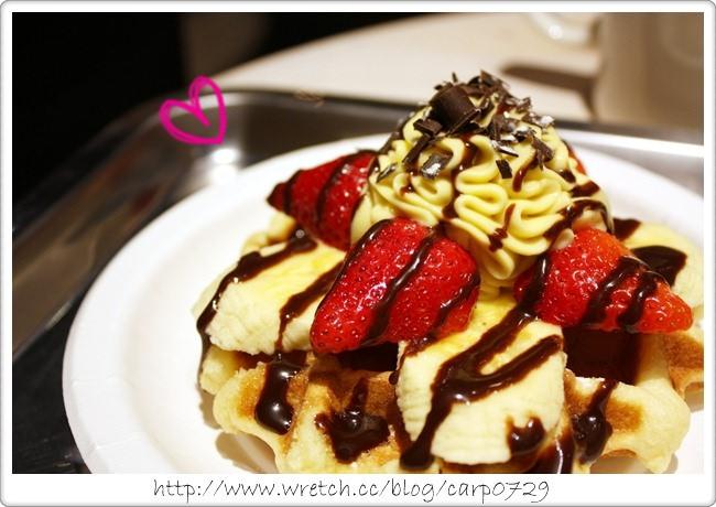 【台北信義】MR.PAPA WAFFLE & CAFE比利時鬆餅專賣店~松山幸福車站 @魚樂分享誌