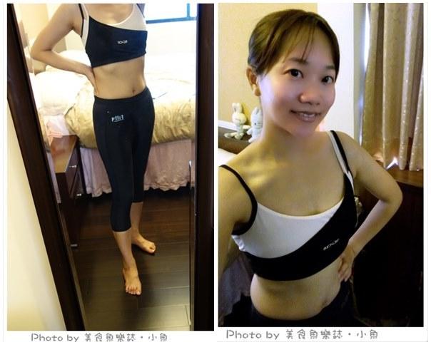 【Fitty】DOUBLE FIT 女性專用壓力運動褲‧跑步運動內搭都好穿!! @魚樂分享誌