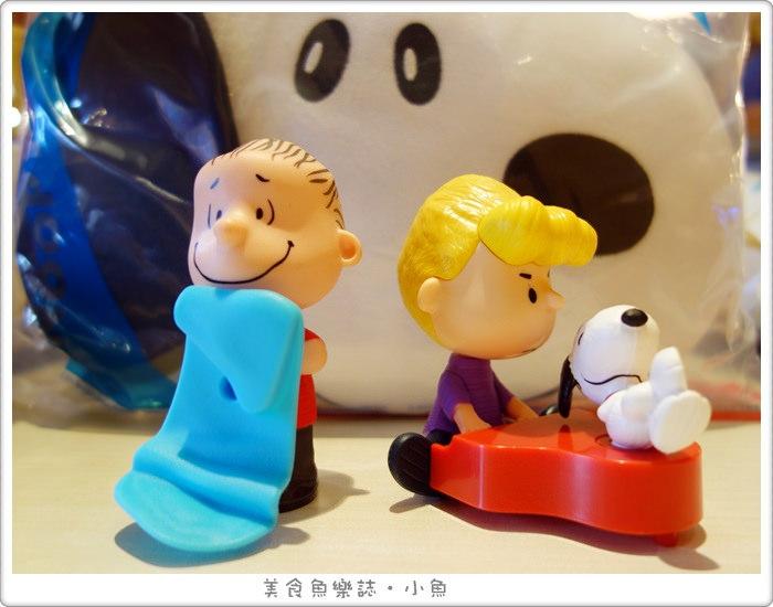【活動】麥當勞快樂兒童餐/史努比玩具系列3/史努比抱枕 @魚樂分享誌