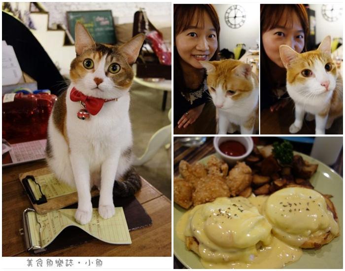 【台北東區】Toast Chat貓咪咖啡店/早午餐/咖啡/下午茶 @魚樂分享誌