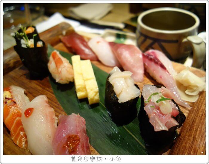 【台北中山】上引水產立吞/握壽司定食/濱江市場 @魚樂分享誌