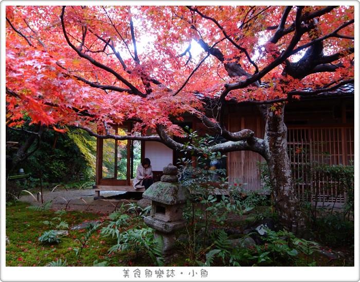 【日本旅遊】京都 厭離庵/嵐山賞楓名所/秋季限定 @魚樂分享誌