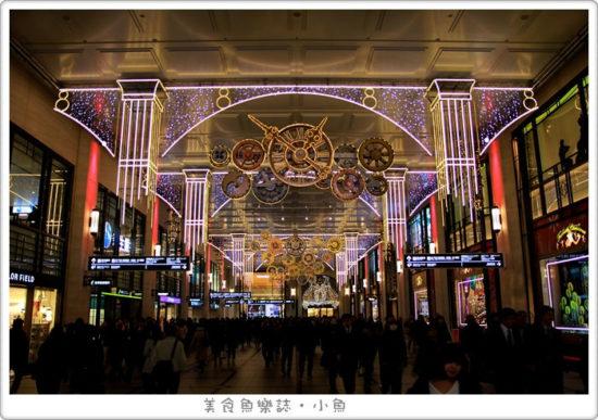 【日本旅遊】大阪 冬季光之饗宴 時鐘迴廊 御堂筋彩燈 @魚樂分享誌