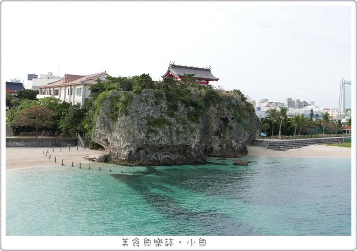 【日本沖繩】波上宮/波之上海灘/那霸市區海景 @魚樂分享誌