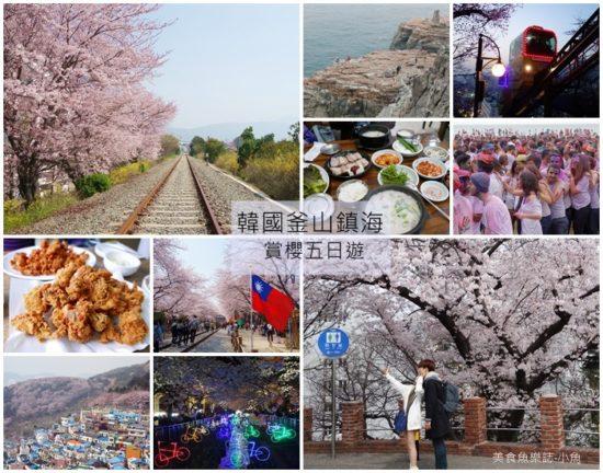 【韓國旅遊】2016釜山賞櫻五日遊行程規劃 @魚樂分享誌