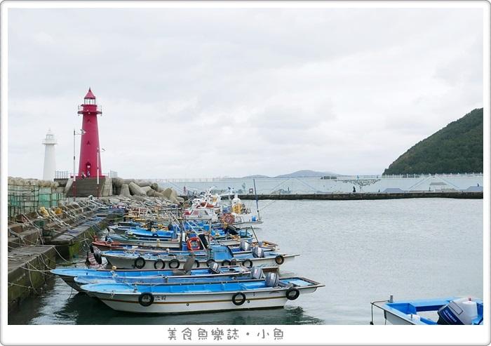 【韓國旅遊】釜山青沙浦(청사포)紅白燈塔/韓劇熱門景點 @魚樂分享誌
