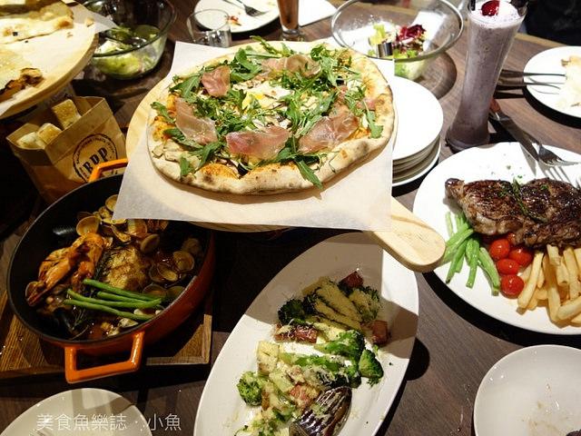 【新竹東區】Bellini Pasta Pasta/新竹巨城/義大利麵/手工窯烤比薩 @魚樂分享誌