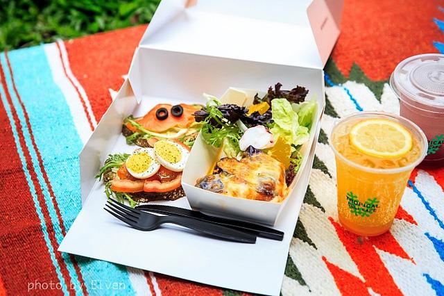 【台北大安】熱帶Tropical Deli Cafe/野餐輕食/文青藝術咖啡館 @魚樂分享誌