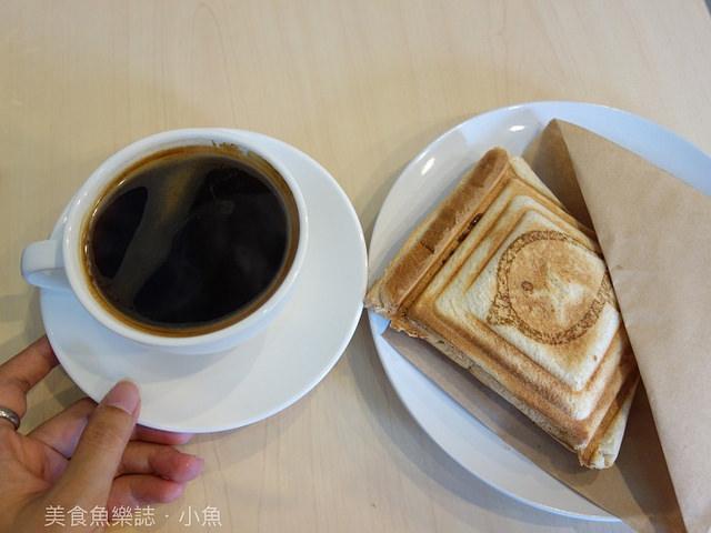 【台北大安】Tori Coffee 鳥兒咖啡/超可愛熱壓吐司/手做甜點/早餐 下午茶 咖啡 @魚樂分享誌