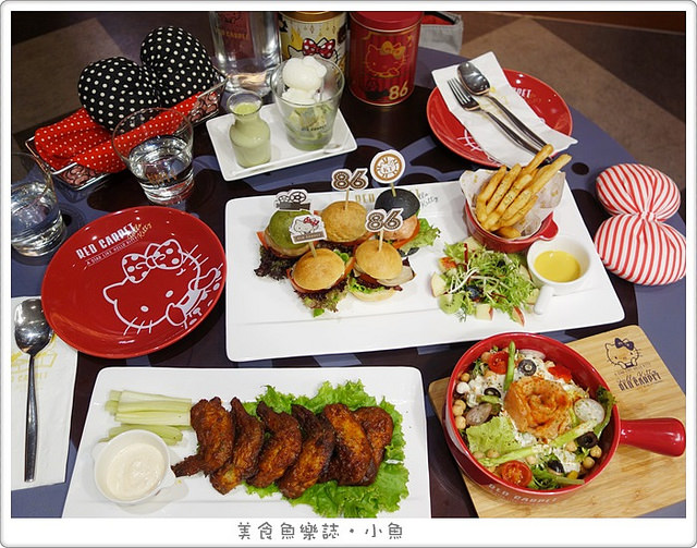 【新北林口】Hello Kitty Red Carpet美式餐廳/林口三井威秀影城 @魚樂分享誌