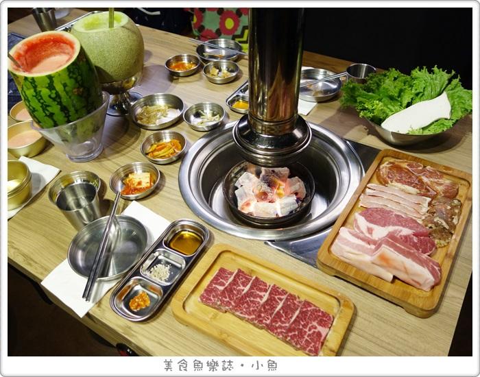 【台北大安】台韓民國 韓式燒肉/忠孝敦化站/東區美食 @魚樂分享誌