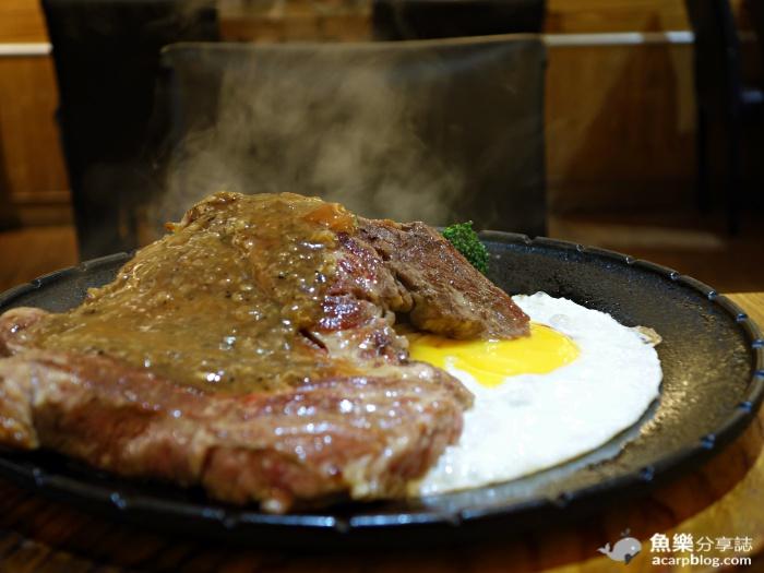 【台北大安】澳客炙燒牛排 OAK Steak House/平價牛排/科技大樓站美食 @魚樂分享誌