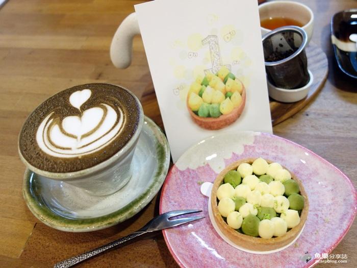 【台北中山】木白甜點咖啡店-日式甜點屋cafe/行天宮美食 @魚樂分享誌