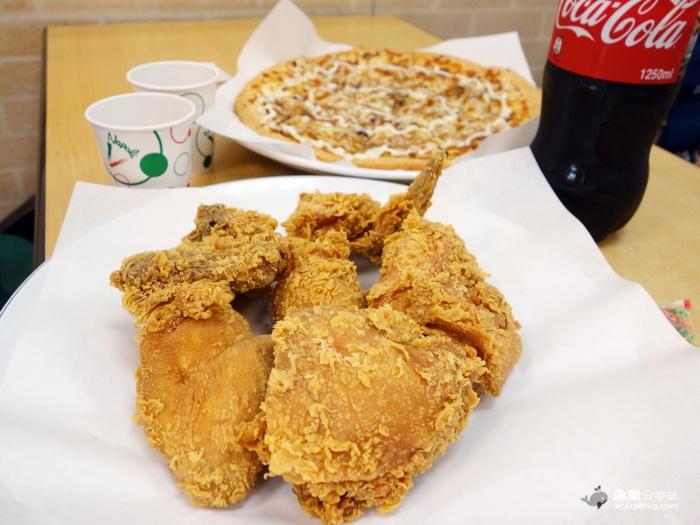 【台北大安】拿坡里披薩炸雞 週年慶六塊雞199元 @魚樂分享誌