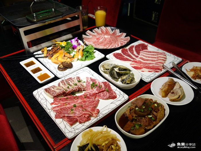 【台北大安】皇上吉饗極品唐風燒肉-東區燒烤吃到飽 @魚樂分享誌