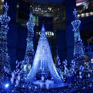 2017汐留聖誕燈光秀